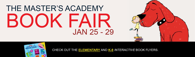 Book Fair Jan 25-29, 2021